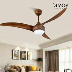 Remote Control Ceiling Fans With Lights Minimalist 52 Inch L