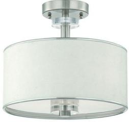 Eurofase Lighting 15330-045 Savvy 3 Light Semi Flush in Sati