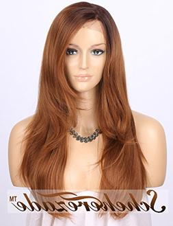 Scheherezade L Part Glueless Long Ombre Blonde Lace Front Wi