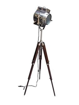 Spot Search Light Photography Studio Floor Lamp With Brown W