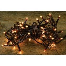 Teeny Tiny Rice Light String Brown Cord -- 100 count