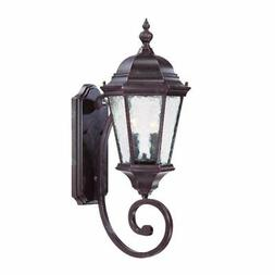 Acclaim Lighting Telfair Collection Wall-Mount 2-Light Brown