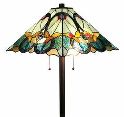 Tiffany Style Mission Floor Lamp 63 inches High - AM255FL17