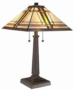 tiffany mission table lamp