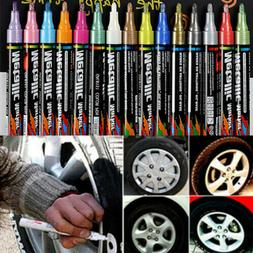 Universal Waterproof Permanent Paint Pen Oil Marker for Car