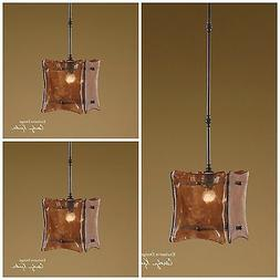 THREE VETRAIO II 1 LT MINI PENDANT LIGHTS  UTTERMOST 21884 O