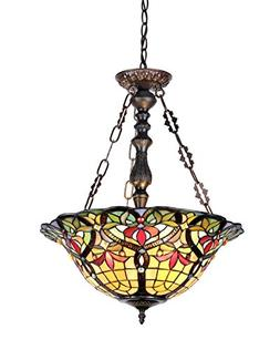 Victorian 3 Light Bertram Inverted Ceiling Pendant