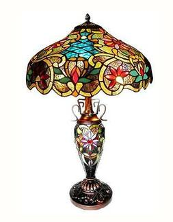 Victorian Leslie 24 H Table Lamp with Bowl Shade