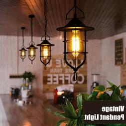 Vintage Industrial Pendant Ceiling Lights Chandelier Lightin