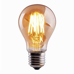 Vintage Thomas Edison LED Light Bulb, Dimmable 6W Antique LE