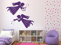 Large Vinyl Decal Angels and Saints Decor Wall Stickers Ange
