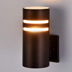 Outdoor Wall Light Fixture, Aluminum Modern Wall Sconce Wate