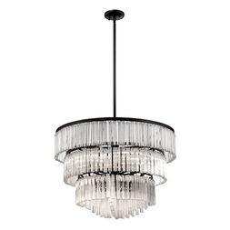"Eurofase 28084-013 Ziccardi 9-Light Chandelier, 28.75"" x 28."